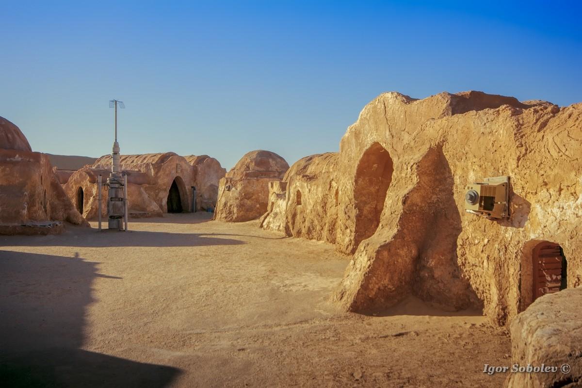 Декорации к Звездным войнам