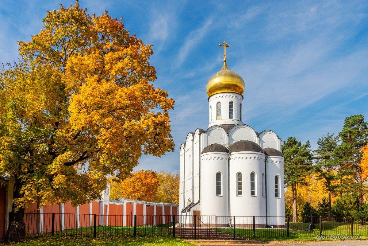 Church of Pimen Ugreshsky in the St. Nicholas Ugreshsky Monastery