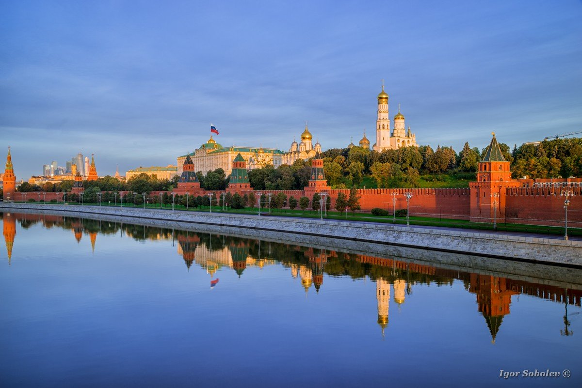 Moscow Kremlin in the morning