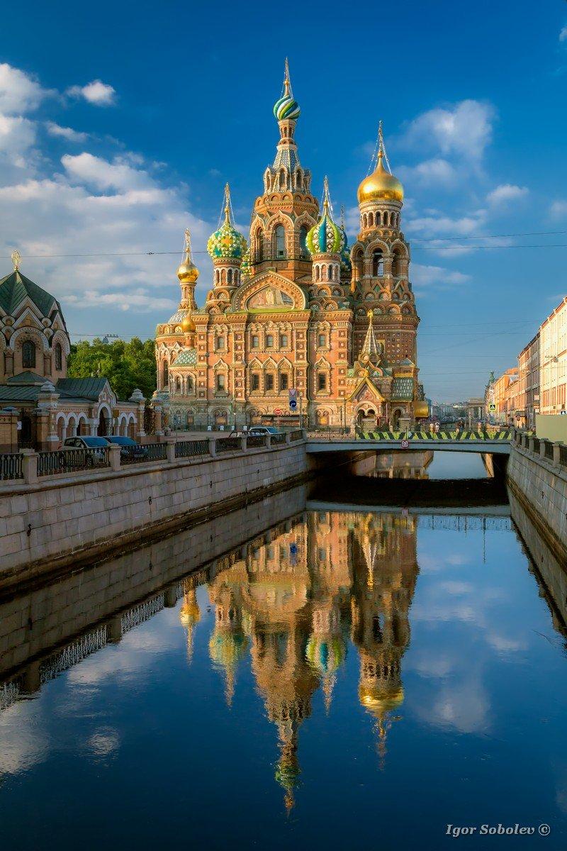 Church of the Resurrection. Savior on Spilled Blood. Saint Petersburg