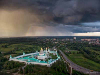 Новоиерусалимский монастырь в пасмурную погоду