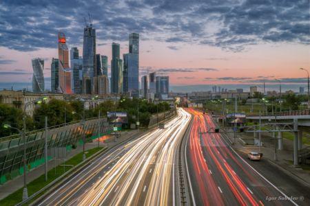 Москва-сити. Третье транспортное кÐ