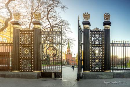 Чугунные ворота