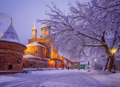 Крутицкое Патриаршее Подворье зимой