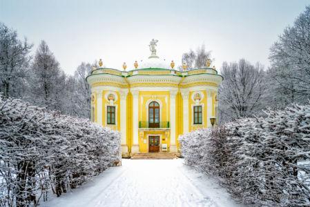 Зима в Кусково