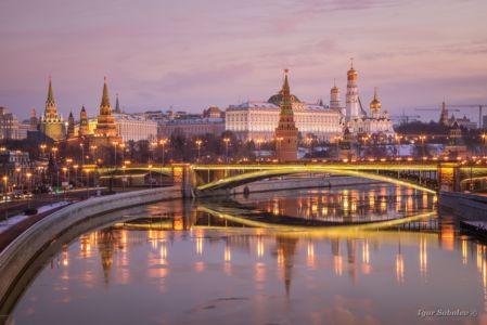 Московский кремль утром