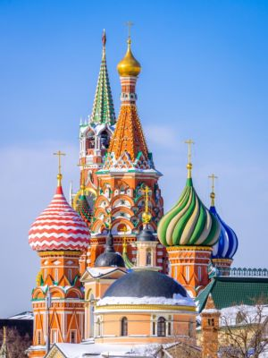 Domes Church of Barbara, St. Basil's Cathedral, Spasskaya Tower