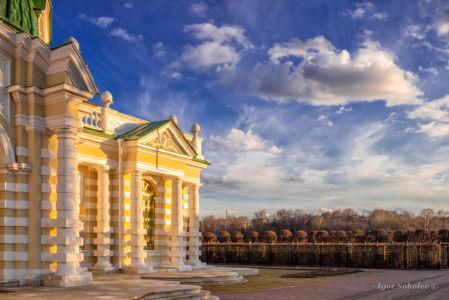 Эрмитаж в парке Кусково
