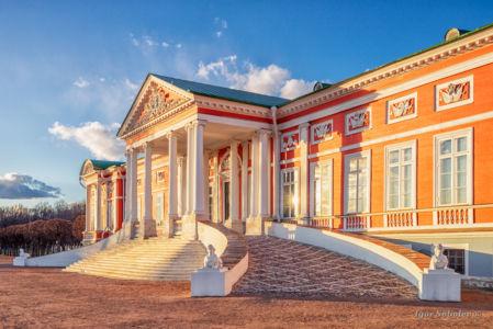 Большой дворец в парке Кусково
