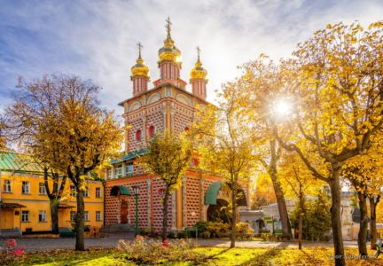 he Forerunner Church of the Trinity Lavra of St. Sergius