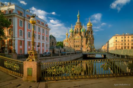 Church of the Resurrection. Savior on Spilled Blood. Saint Petersburg