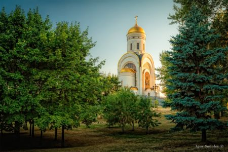 Temple of St. George on Poklonnaya Hill