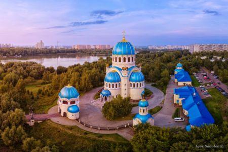 Храм Святой Троицы в Орехово-Борисове