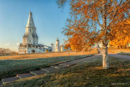 Парк Коломенское, Церковь Вознесен