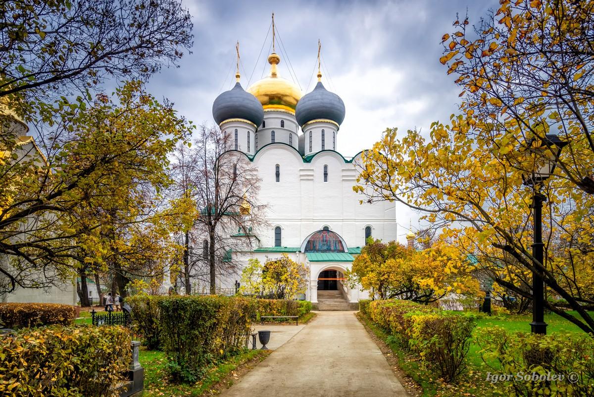 Смоленский собор Новодевичьего монастыря / Smolensk Cathedral of the Novodevichy Convent