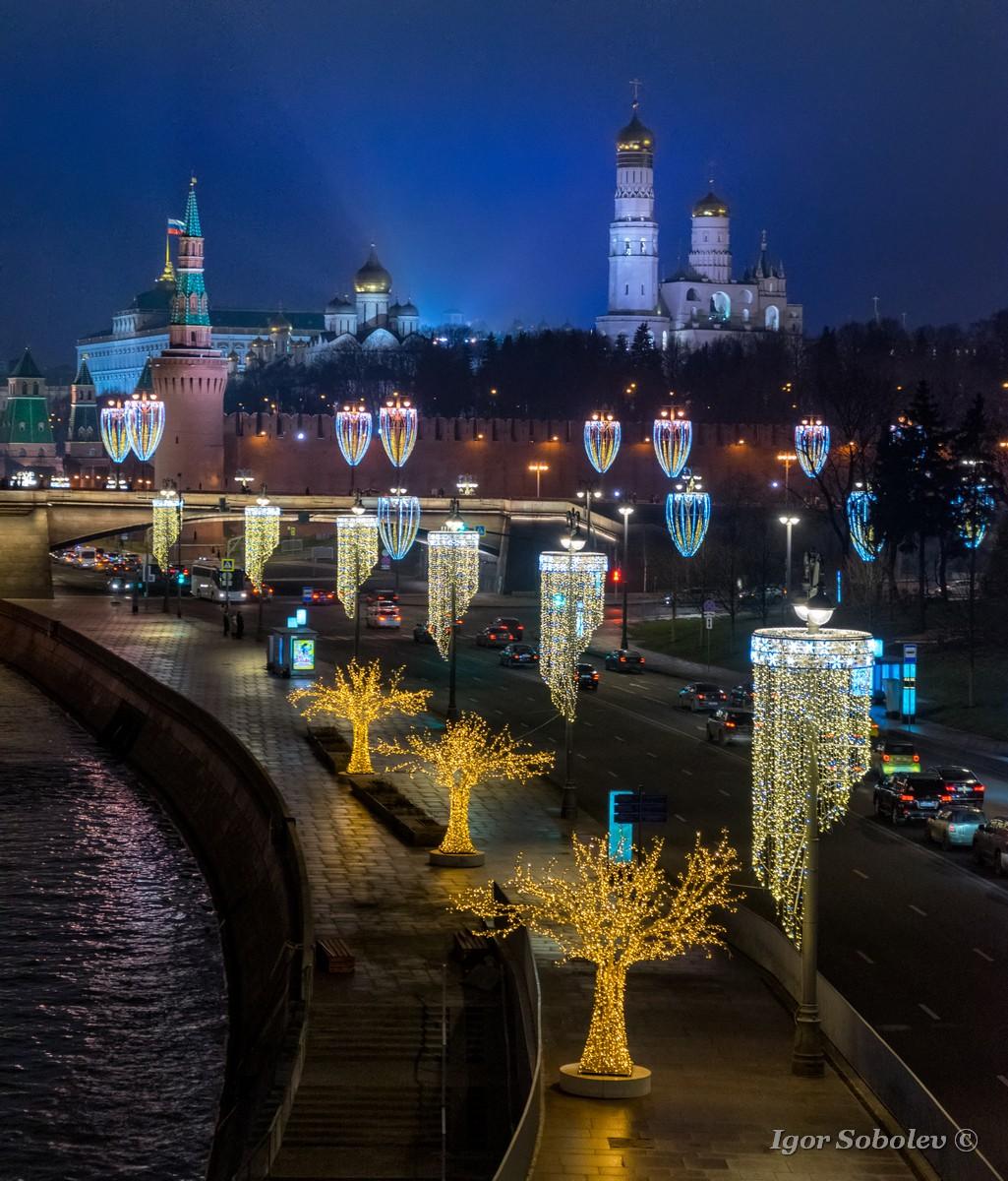 Новогодняя Москва / New Year Moscow