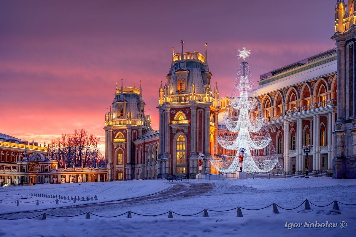 Новый год в Царицыно / New Year in Tsaritsyno