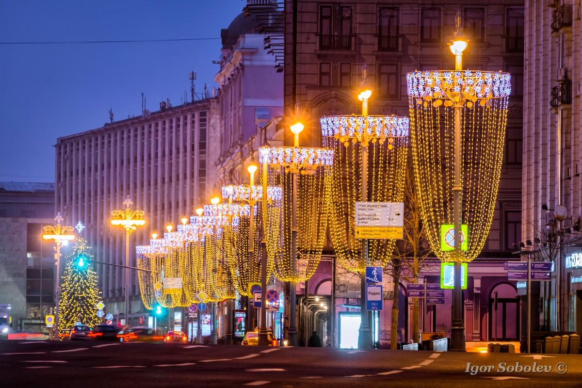 Новогодняя инсталляция в Москве / New Year's installation in Moscow