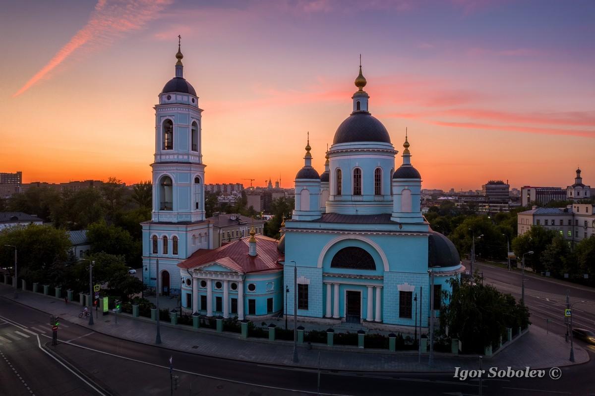 Церковь Сергия Радонежского в Рогожской слободе