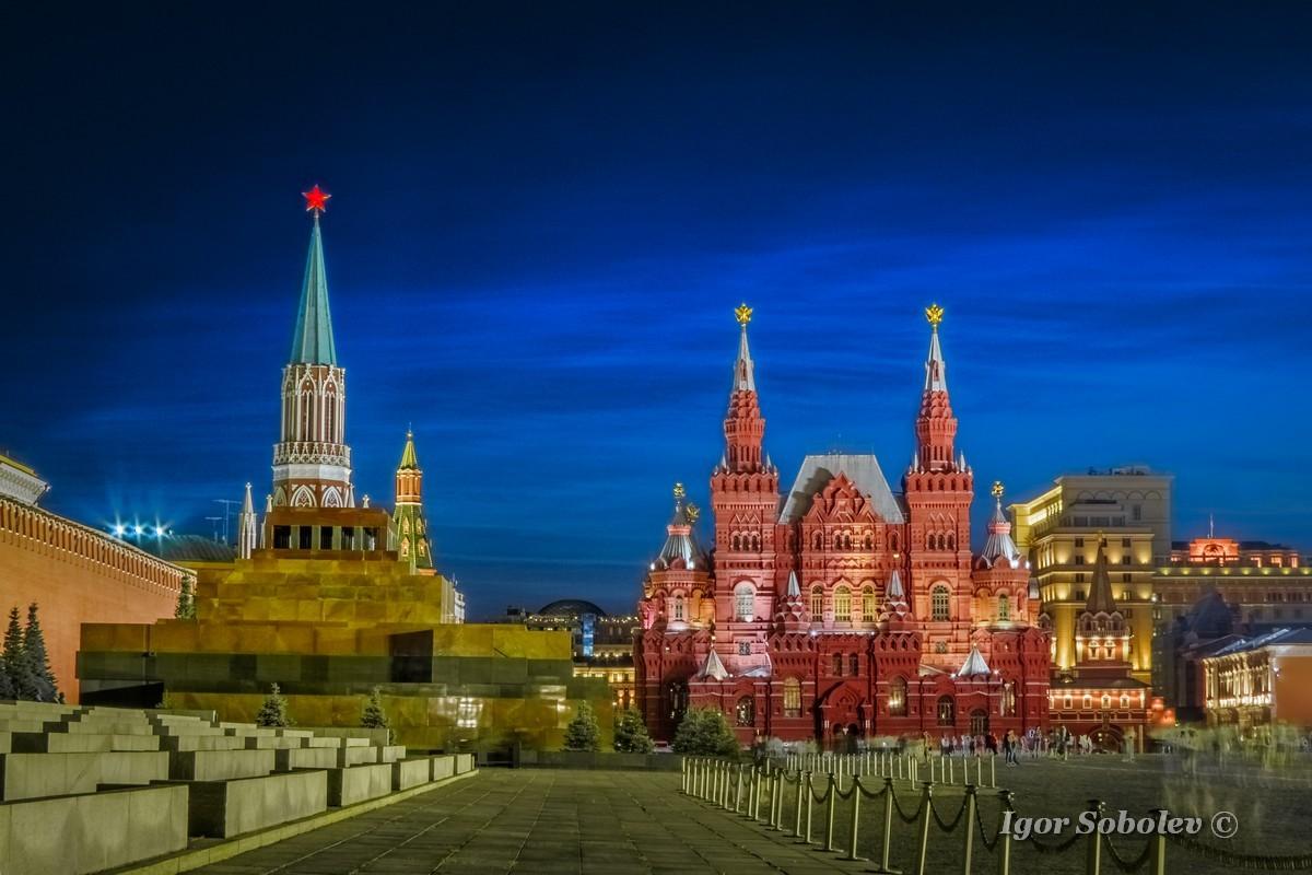 Серебристые облака в Москве