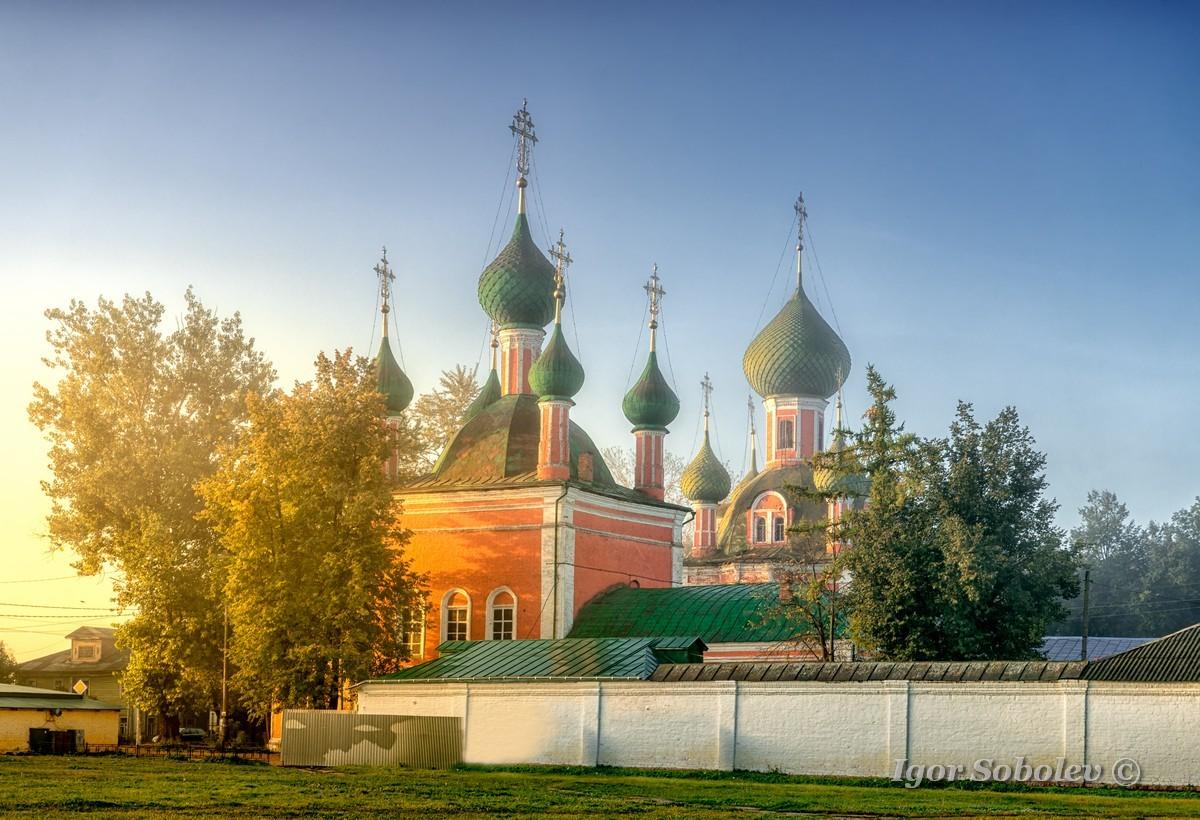Переславль-Залесский утром