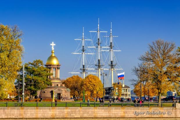 Троицкая часовня в Санкт-Петербурге