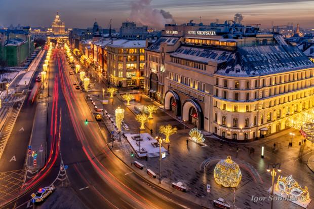 Новый год на Новой площади