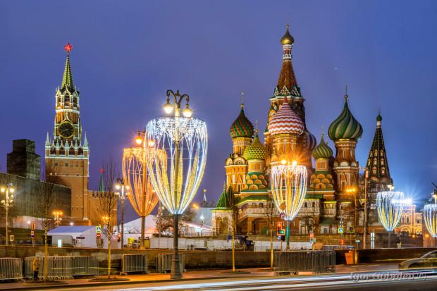 Новогодняя инсталляция в Москве