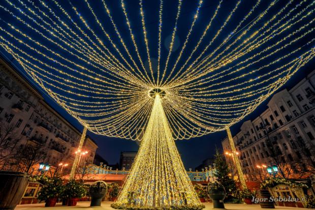 Новый год  на Тверской площади
