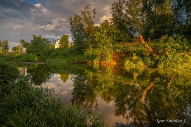 Летний вечер в Гефсиманском саду
