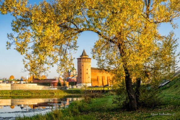 Маринкина башня в Коломне