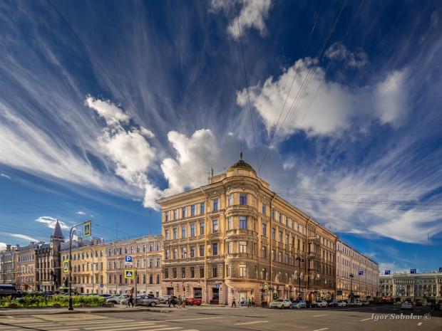 Небо Санкт-Петербурга