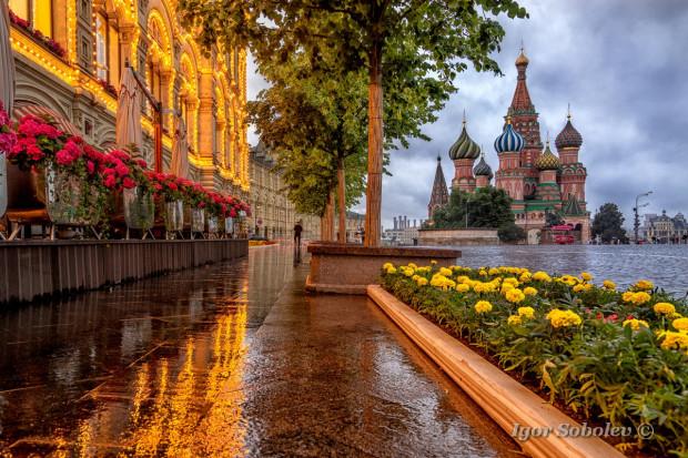 Дожди в Москве
